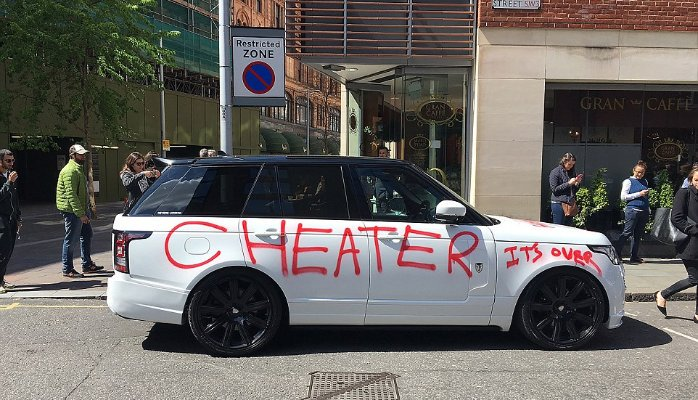 When You Get Caught Cheating Cars Destroyed By Ex Wives