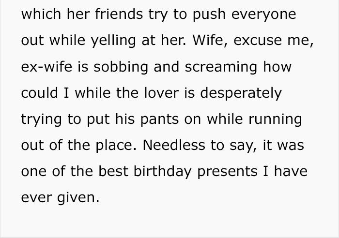 Husband Turns His Cheating Wife's Birthday Into Genius Revenge