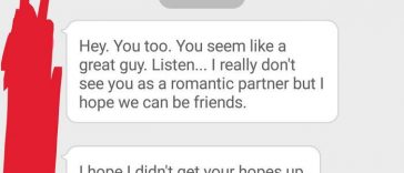 Text About 'Just Being Friends' Takes Wrong Turn