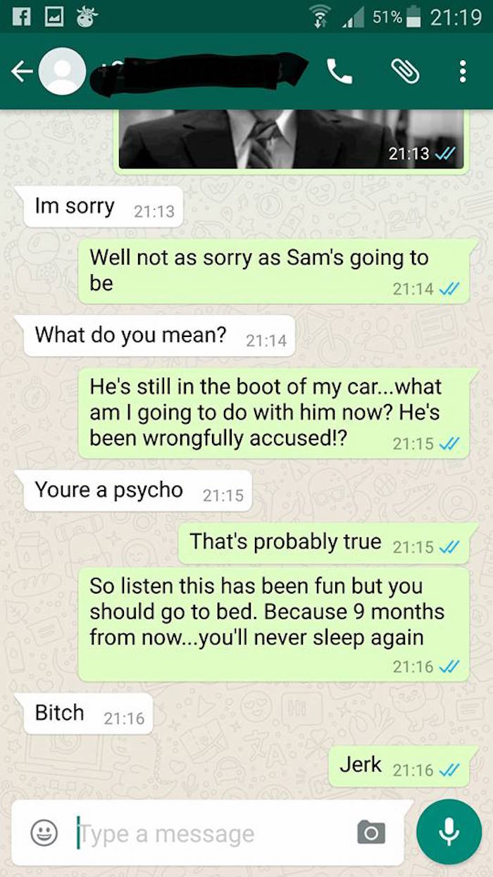 Pregnant Side Chick Texts the Wrong Person and Things Take an EPIC Turn